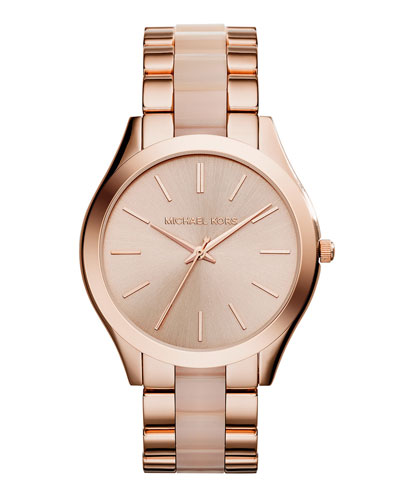 Runway Rose Golden Watch