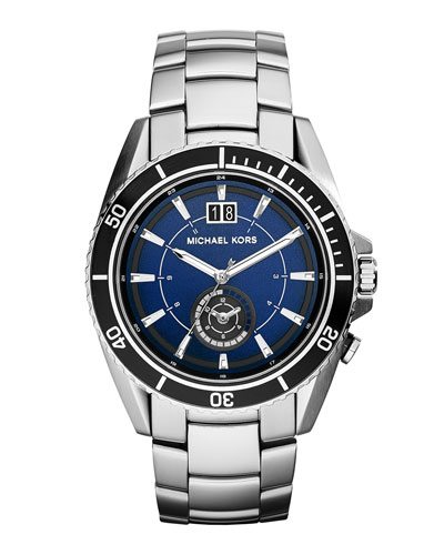Stainless Steel Jet Master Watch