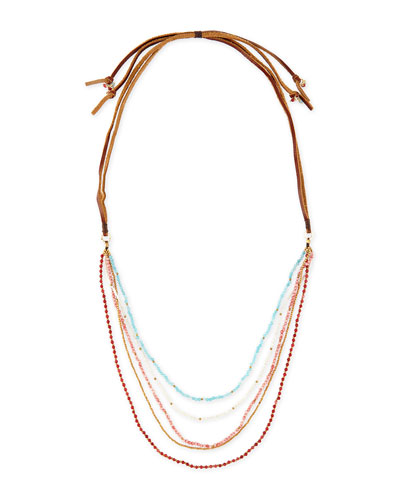 Multi-Strand Beaded Necklace, 38