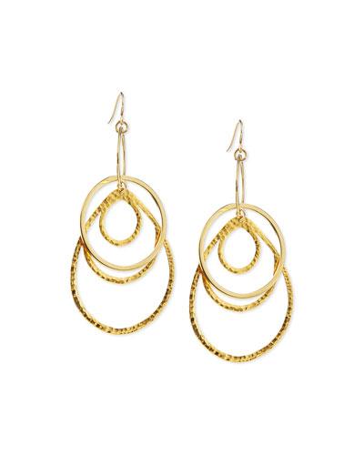 Multi-Hoop Pendant Earrings