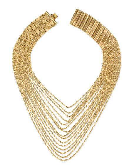 Auden Leighton Multi Strand Chain Necklace Neiman Marcus