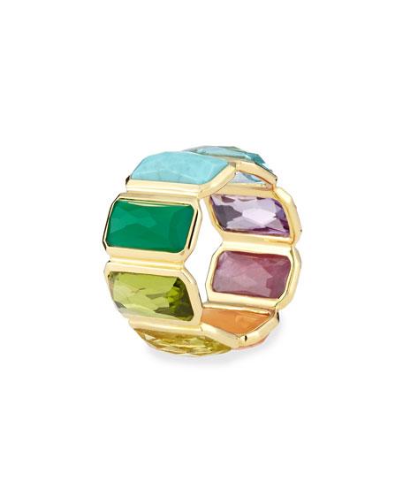 18k Rock Candy Fancy Rectangle Lollipop Ring