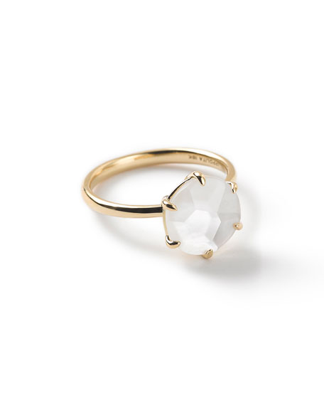 Ippolita 18k Rock Candy Mother-of-Pearl Ring