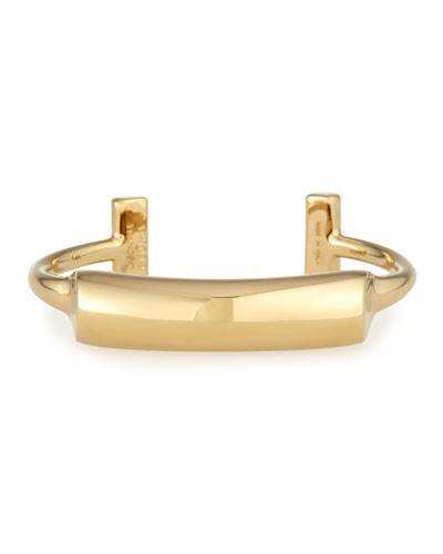 Lauren Gold-Plated Bar Cuff Bracelet