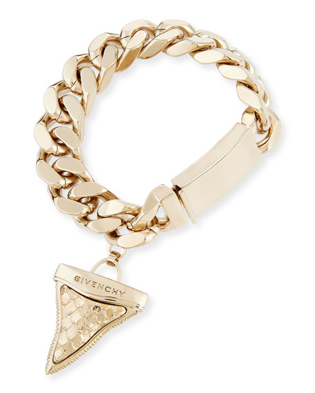 Textured Shark Tooth Bracelet