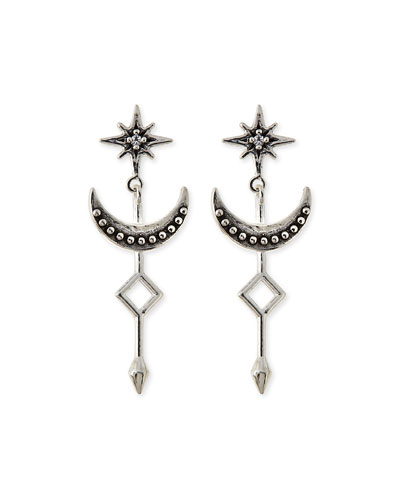 Stardust Silver Earrings