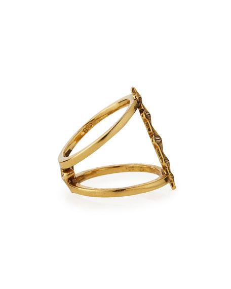 Ursa Minor Gold-Plated Ring