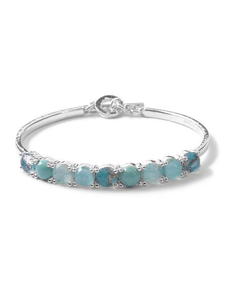 Ippolita Wonderland Toggle Bangle Bracelet in Turquoise/Amazonite