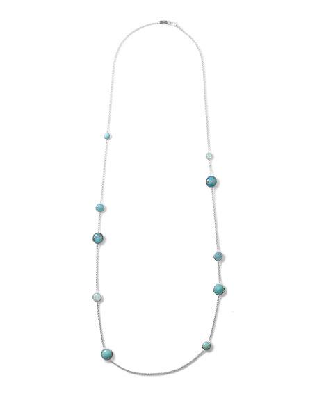 Wonderland Turquoise Station Necklace