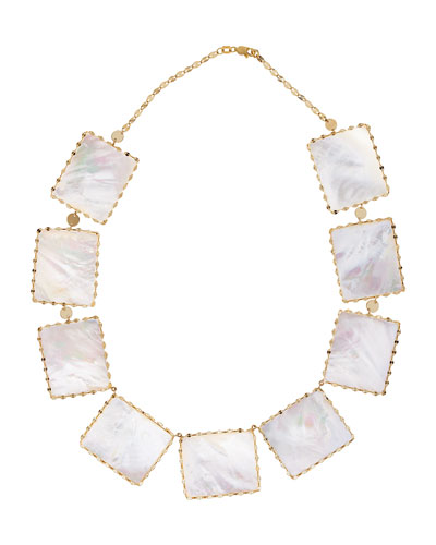Costa Blanca Mother-of-Pearl Necklace