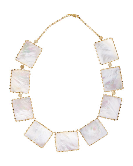 Lana Costa Blanca Mother-of-Pearl Necklace