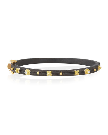 Armenta Midnight Diamond Huggie Bracelet