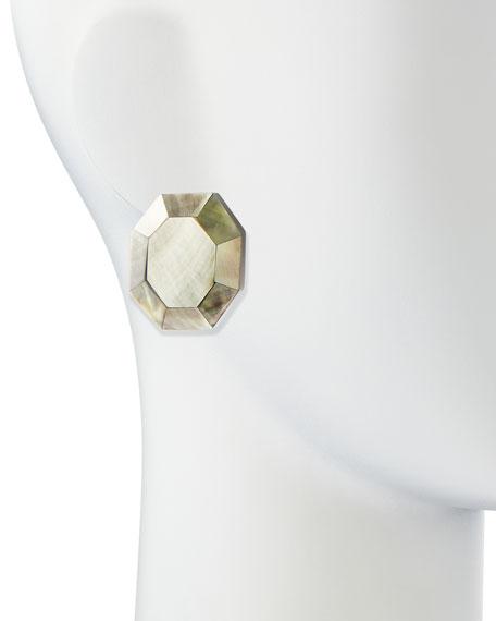 Geometric Mother-of-Pearl Earrings