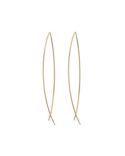 Americana Classic Golden Earrings