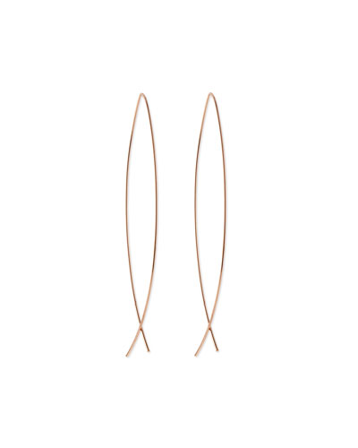 Americana Classic Rose Golden Earrings