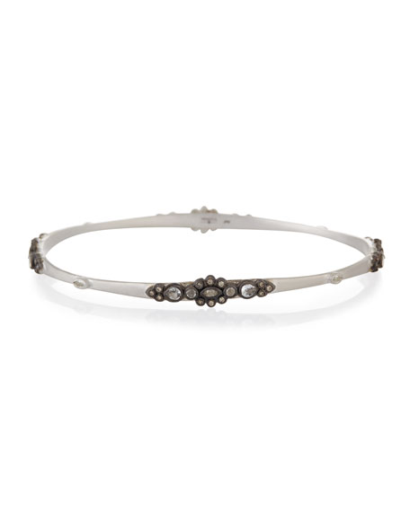 Armenta New World Lacy Champagne Diamond Bangle