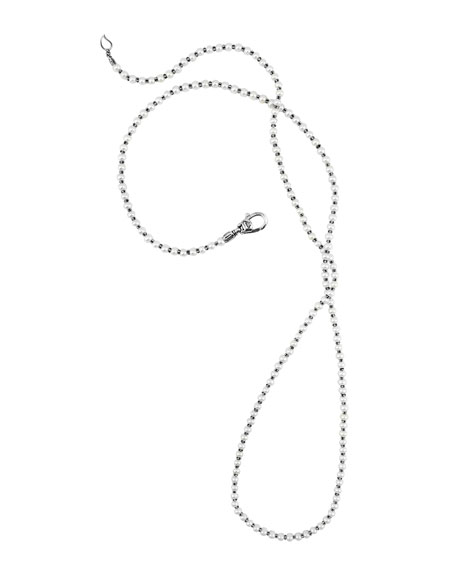 "Pearl Necklace, 36""L"