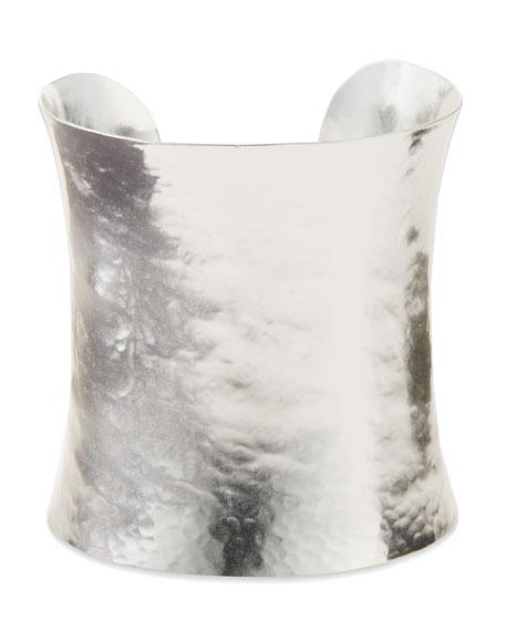 Goddess Silver-Plated Cuff Bracelet