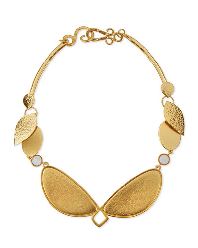 Metamorphosis Gold-Plated Necklace