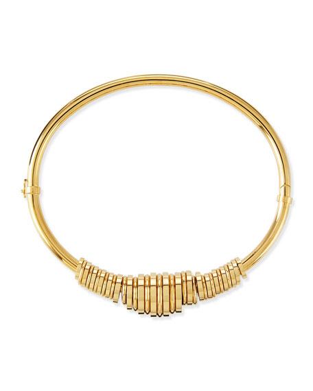 Freja Brass Collar Necklace