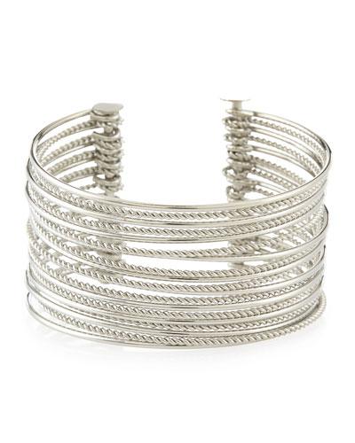 Glam Wire Cuff Bracelet