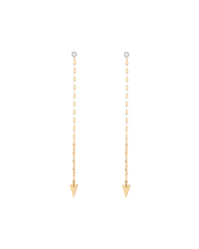 Vista 14k Gold Duster Earrings