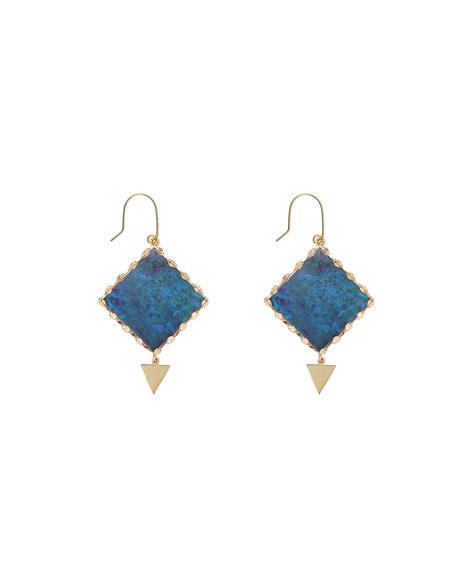 Lana Mini Prix Boulder Opal Earrings