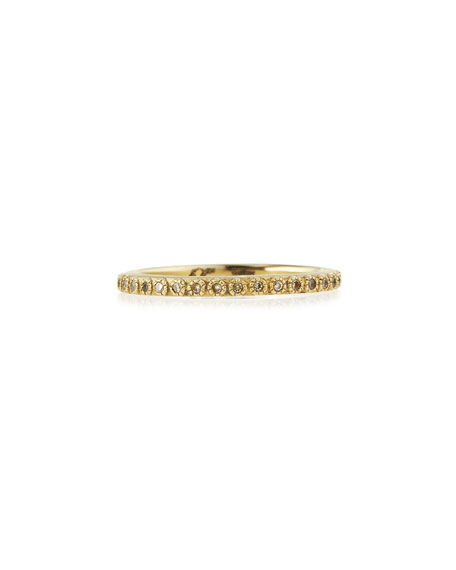 Armenta Sueno 18k Gold Diamond Eternity Band Ring