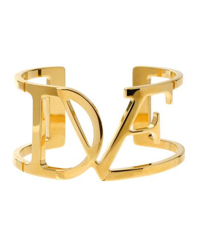 DVF Wide Cuff Bracelet