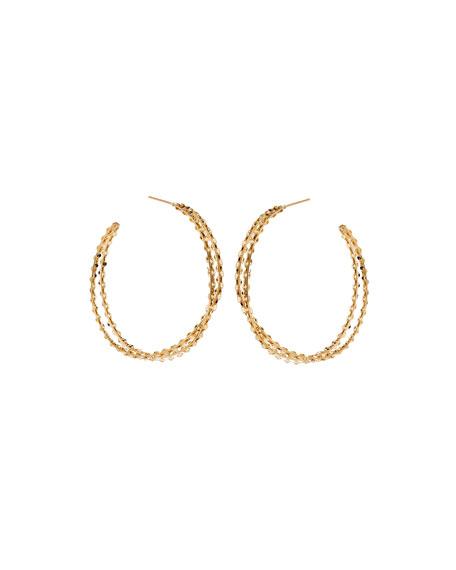 St. Tropez 14k Twist Hoop Earrings