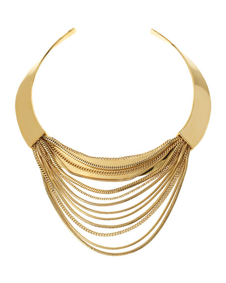 Snake Chain Collar Necklace