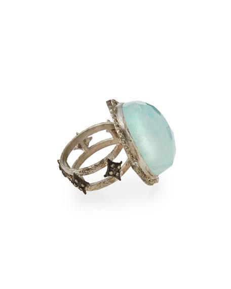 New World Oval Moonstone Ring