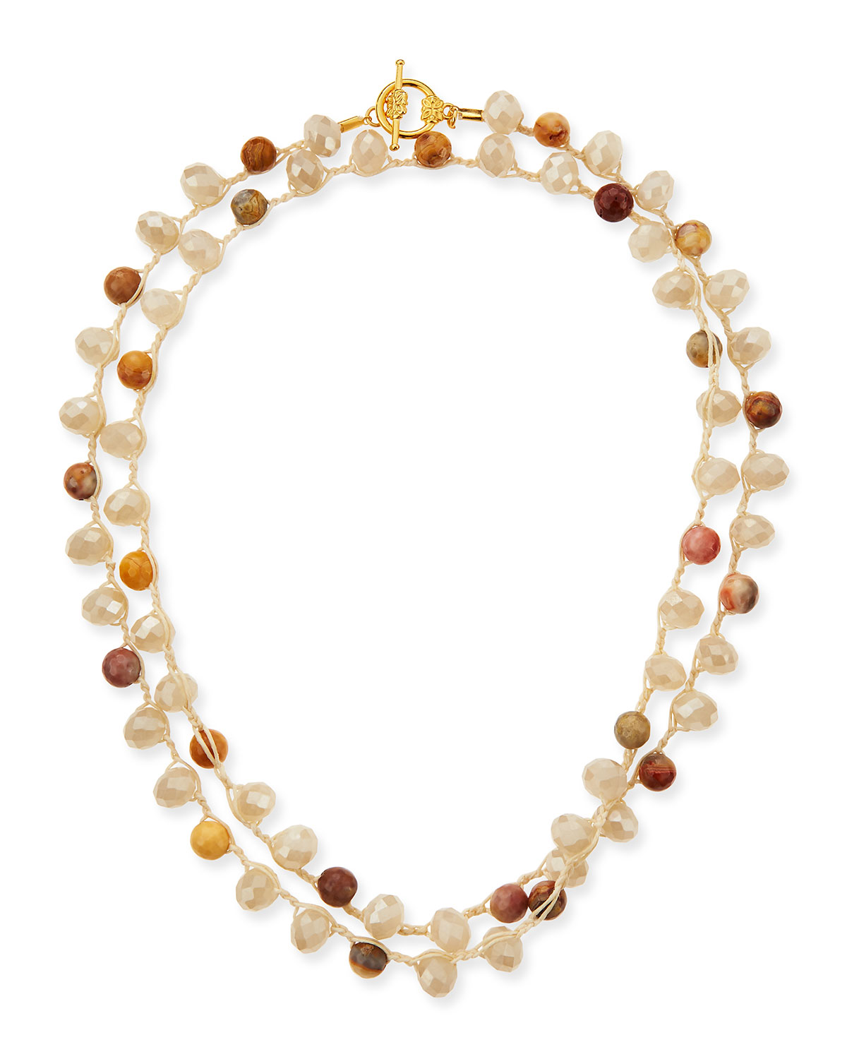 An Old Soul Jewelryfaceted Bead Necklace 36l