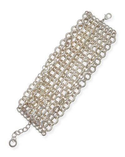 Matte Chain-Link Bracelet