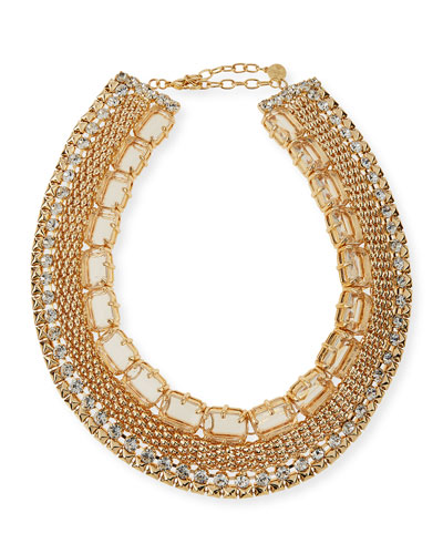 Crystal Cleopatra Necklace