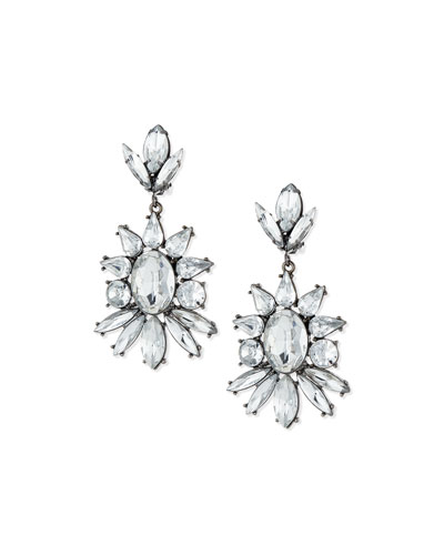 Starlight Crystal Drop Earrings