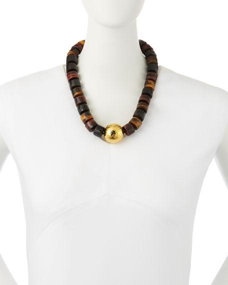nest jewelry tigers eye statement necklace neiman marcus