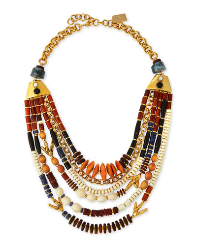 The Medina Necklace, Multi Colors