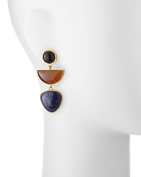 The Beldi Earrings, Multi Colors