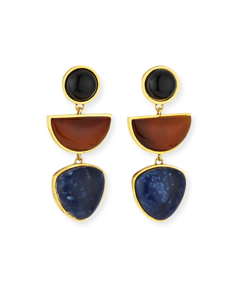 Lizzie Fortunato The Beldi Earrings, Multi Colors