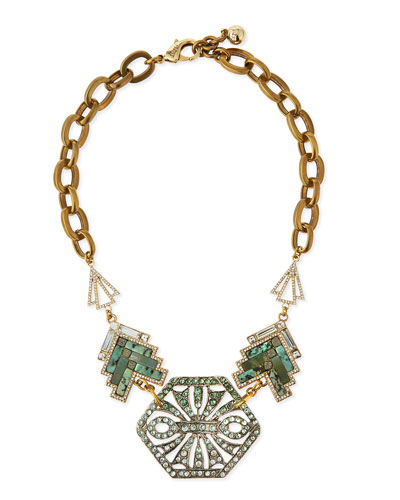 Ortigia Mosaic Statement Necklace