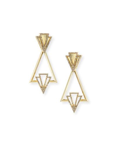 Portico Crystal Drop Earrings