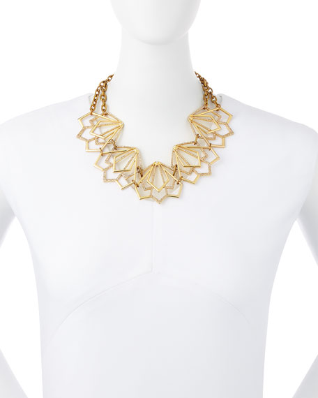 Portico Crystal Statement Necklace
