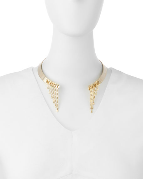 Veda Gold-Plated Collar Necklace