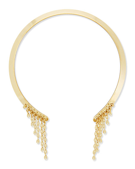 Dannijo Veda Gold-Plated Collar Necklace