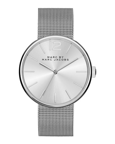 36mm Stainless Mesh Strap Watch