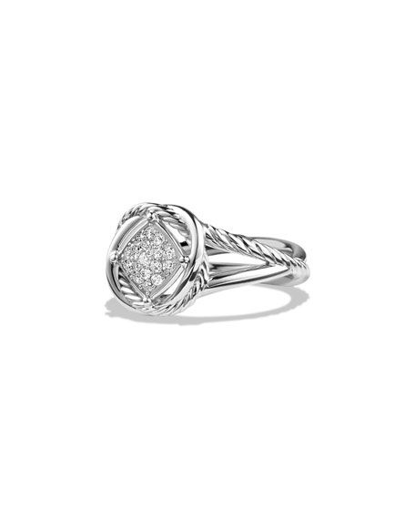 David Yurman 7mm Infinity Pav?? Diamond Ring