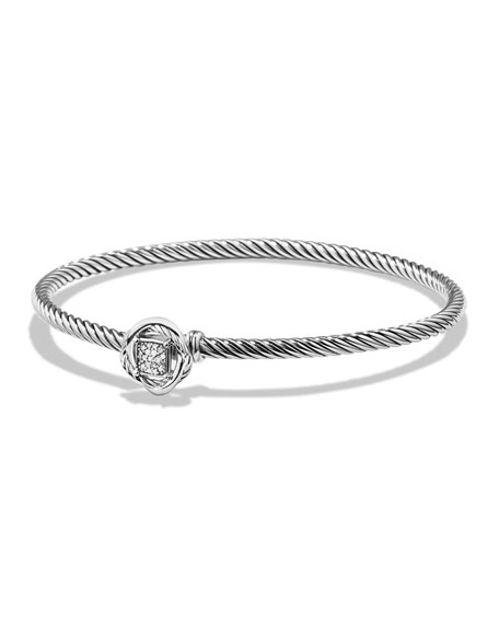 David Yurman Infinity Bracelet with Diamonds