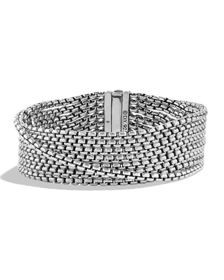 Chain Eight-Row Bracelet, 2.7mm