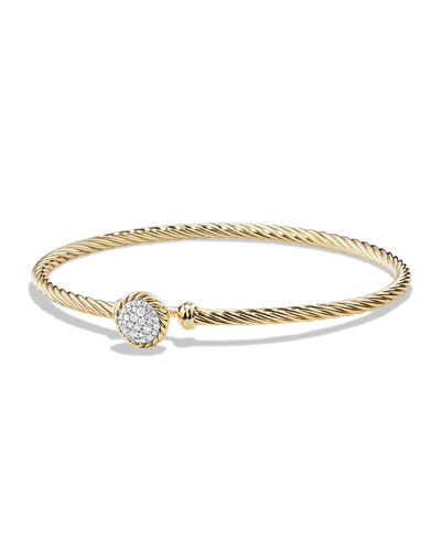 Chatelaine Bracelet with Diamonds in 18k Gold
